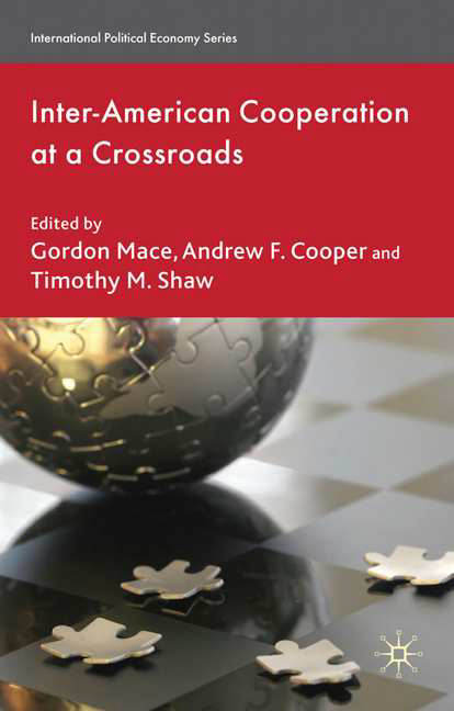 Inter-American Cooperation at a Crossroads publication download order form